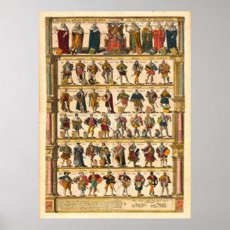 Imperadores do império romano santamente impressão