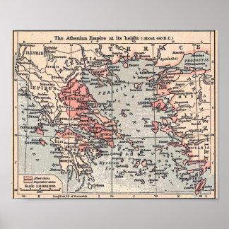 Império ateniense pôster
