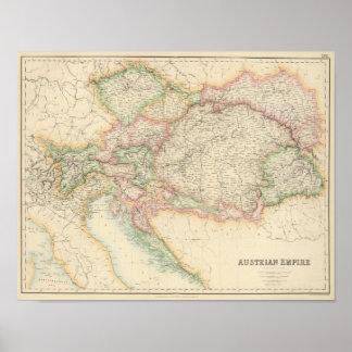 Império austríaco 3 posteres