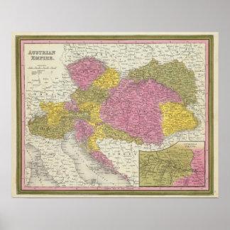 Império austríaco 4 pôsteres