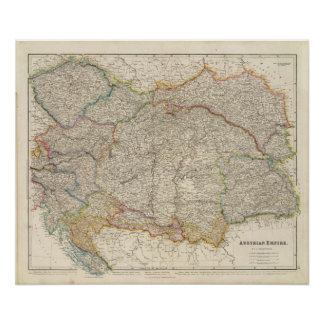Império austríaco poster