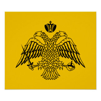 Império bizantino poster