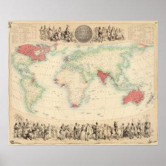 Império Britânico Pôster
