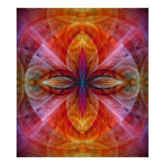 Império da flor de Sun Poster