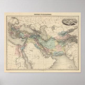 Império de Alexander Pôster