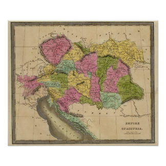 Império de Áustria Poster