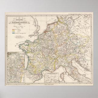 Império de Carolingian Poster