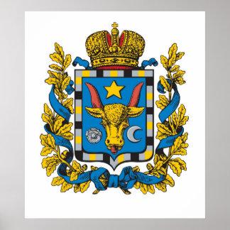 Império de russo do Governorate de Bessarabia Posters