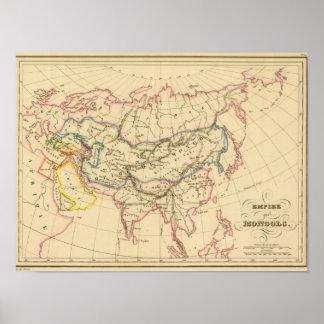 Império dos Mongols Poster