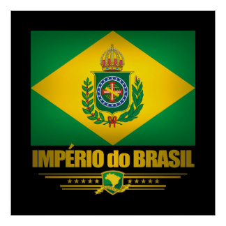 """Império posters & impressões de Brasil"""