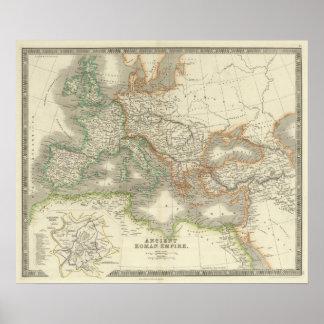 Império romano antigo poster