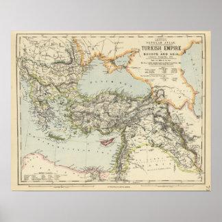 Império turco, piscina, Romania Poster