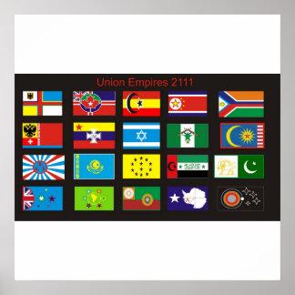 Impérios da união: 2111 posters