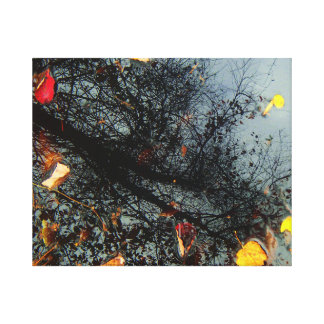 Impressão abstrato das canvas da fotografia da impressão em tela