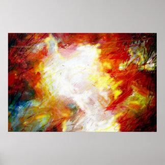 Impressão abstrato moderno da arte da pintura