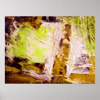 Impressão abstrato moderno do poster da arte da pi