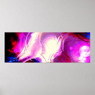 Impressão abstrato moderno do poster dos efeitos d