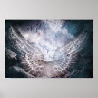 Impressão angélico das vozes