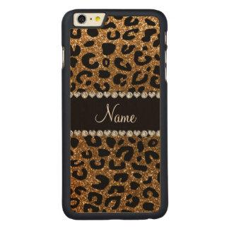 Impressão conhecido feito sob encomenda da chita capa para iPhone 6 plus de carvalho, carved®