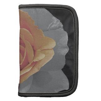 Impressão cor-de-rosa das flores da laranja agendas