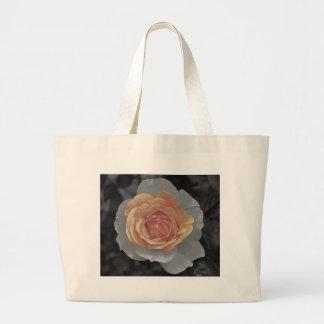Impressão cor-de-rosa das flores da laranja bolsas de lona