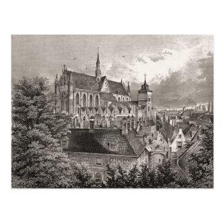 Impressão da antiguidade da réplica, Leiden Cartão Postal