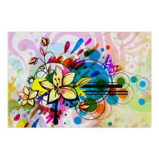Impressão da arte abstracta 26