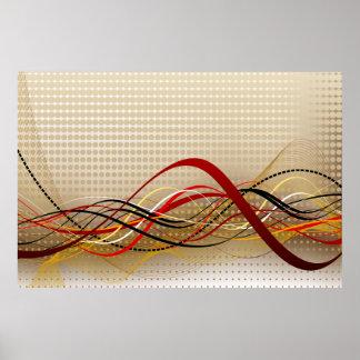 Impressão da arte abstracta 33