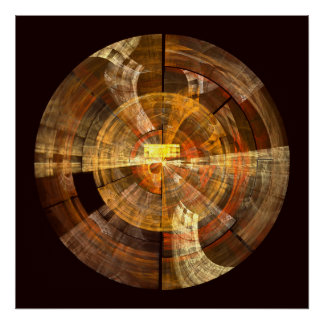 Impressão da arte abstracta da integridade