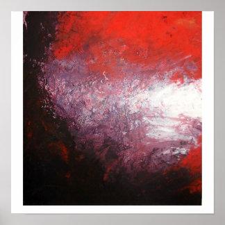 Impressão da arte abstracta - trabalhos de arte mo