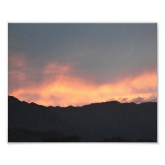 Impressão da arte da foto de Havaí do fogo do por  Impressão De Foto