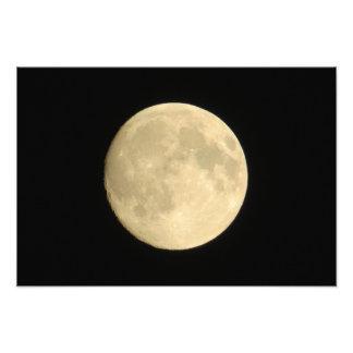 Impressão da arte da Lua cheia Impressão De Foto
