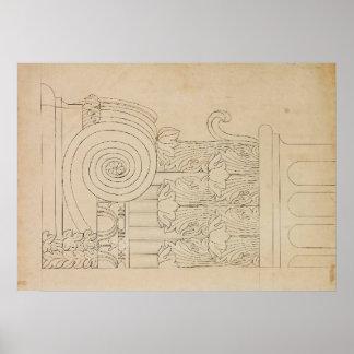 Impressão da coluna de Gallier