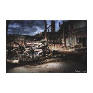 Impressão da fotografia das belas artes - 'Bike qu Impressão Em Tela