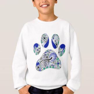 Impressão da pata do amante do cão t-shirt