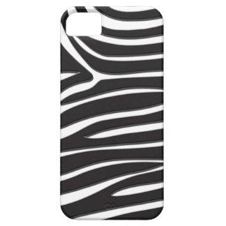 Impressão da zebra capa barely there para iPhone 5