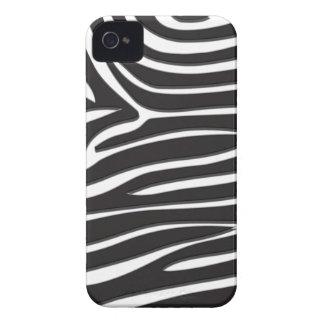 Impressão da zebra capas para iPhone 4 Case-Mate