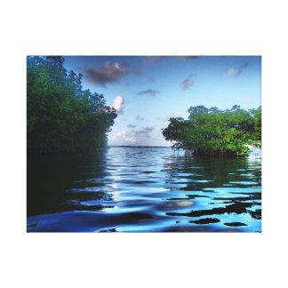 Impressão das canvas da fotografia da paisagem impressão em tela