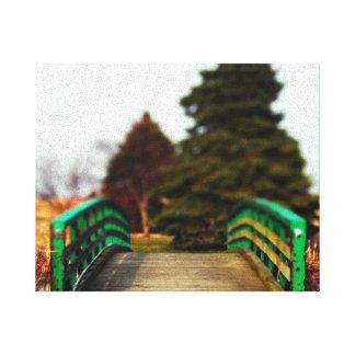 Impressão das canvas da ponte das naturezas impressão em tela canvas