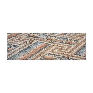 Impressão das canvas das cores do mosaico