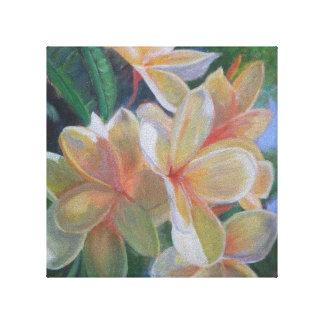 Impressão das canvas das FLORES do HAWAIIAN