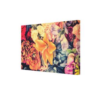 Impressão das canvas das flores do outono do