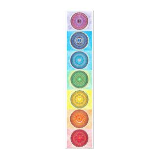 Impressão das canvas de 7 Chakra