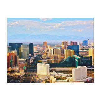 Impressão das canvas de Las Vegas