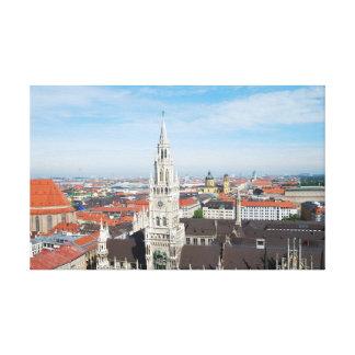 Impressão das canvas de Munich, Alemanha