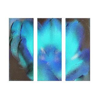 Impressão das canvas - fogo azul