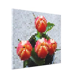 Impressão das canvas - loucura do mosaico
