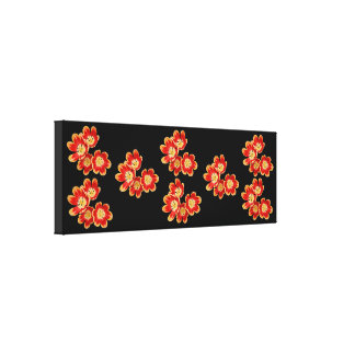 Impressão das canvas - tulipas de caída