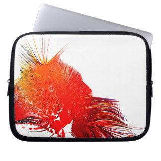 Impressão de Digitas - a bolsa de laptop Capas De Notebook