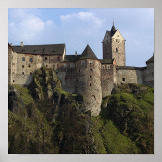 Impressão de Loket do castelo